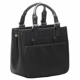 Burberry Black Leather Tote Bag 301087