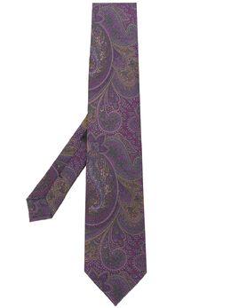 Etro галстук с принтом пейсли 120264058