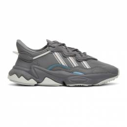 Adidas Originals Grey Ozweego Sneakers EE5718