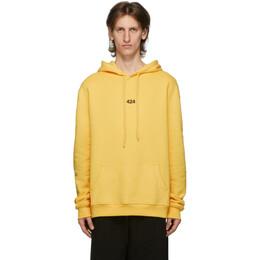 424 Yellow Logo Hoodie 8008.115.4034