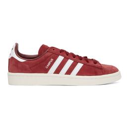 Adidas Originals Burgundy Campus Sneakers BZ0087