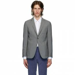 Boss by Hugo Boss Grey Wool Nolvay Blazer 50432936