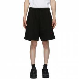 424 Black Logo Shorts 3004.115.0999