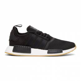 Adidas Originals Black and White NMD-R1 Sneakers B42200
