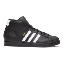 Adidas Originals Black Pro Model High-Top Sneakers FV5723