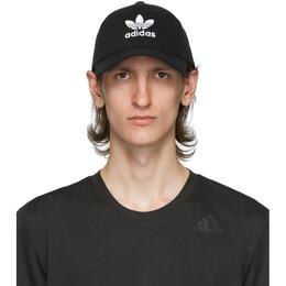 Adidas Originals Black and White Trefoil Cap EC3603