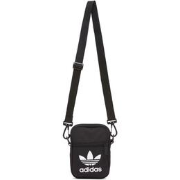 Adidas Originals Black Trefoil Fest Bag EI7411