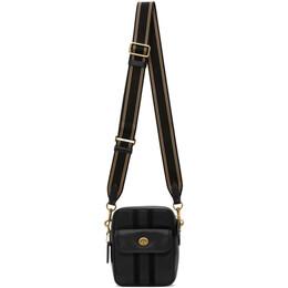 Coach 1941 Black Leather Dylan 15 Messenger Bag 3683OLBLACK