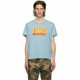 R13 Blue Elvis Logo Boy T-Shirt R13W7701-37