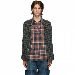 R13 Multicolor Double Shirt R13W7625-594