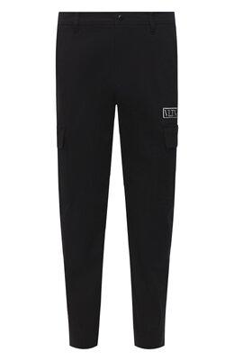 Хлопковые брюки Valentino UV3REB006F1