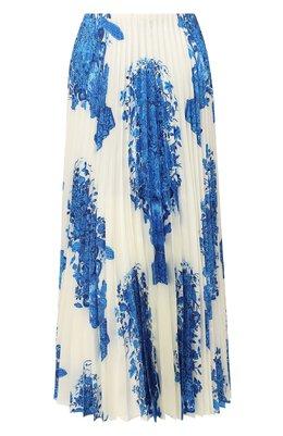 Шелковая юбка Valentino UB3RA6F55LL