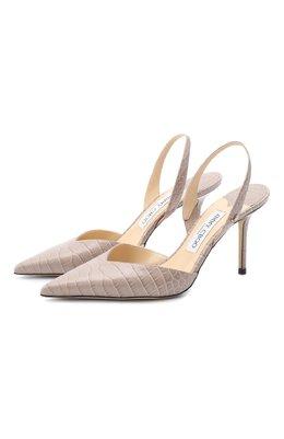 Кожаные туфли Thandi 85 Jimmy Choo THANDI 85/CCL