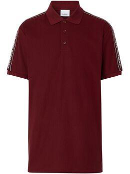 Burberry рубашка поло с логотипом 8031896