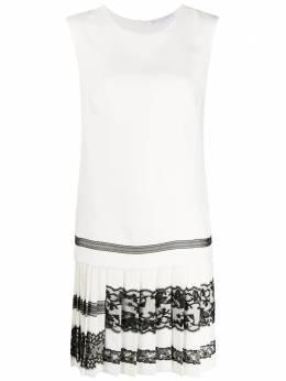 Ermanno Scervino платье без рукавов с кружевом D372Q339XXA