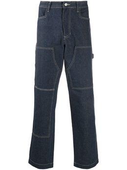 1017 Alyx 9Sm прямые джинсы в технике пэчворк SZUPA0056FA01