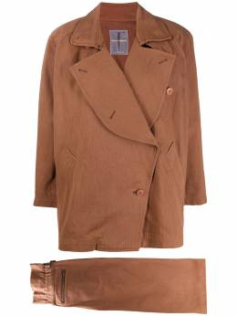 Issey Miyake Pre-Owned комплект из юбки и жакета 1980-х годов MIY310