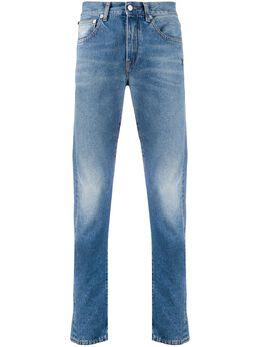 Off-White джинсы кроя слим OMYA085E20DEN0014901
