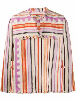 Isabel Marant рубашка Pilano в полоску HT178820E003H