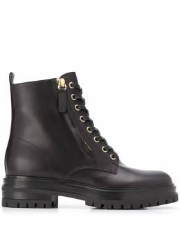 Gianvito Rossi ботинки на шнуровке G7343220GOMCLN