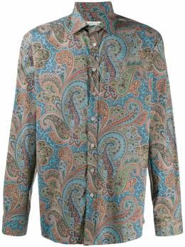 Etro рубашка с принтом пейсли 163765751