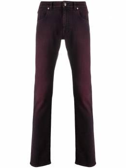 Etro джинсы кроя слим с эффектом потертости 1W4179648