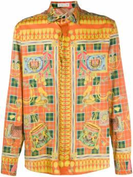 Etro рубашка с принтом 1K8195744