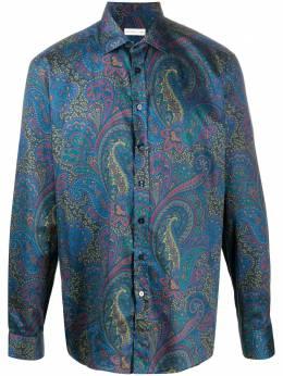 Etro рубашка с принтом пейсли 163765734