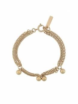 Isabel Marant ball charm chain link bracelet BR075620A002B