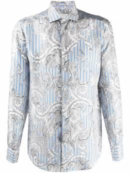Etro рубашка с принтом 114513312