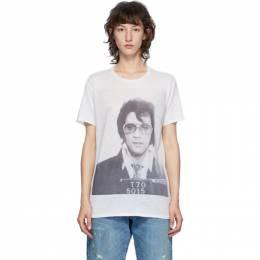R13 Off-White Elvis T-70 Boy T-Shirt R13W7706-43