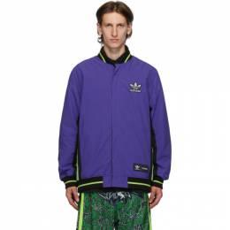 Sankuanz Reversible Black and Purple adidas Originals Edition Jacket FT6039