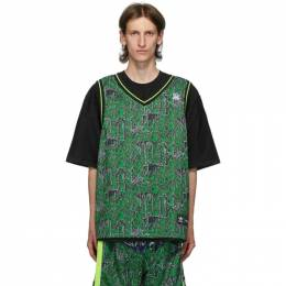 Sankuanz Reversible Black and Green adidas Originals Edition Gore Halp T-Shirt FS8916