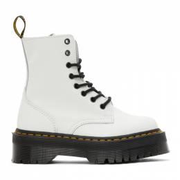 Dr. Martens White Jadon Retro Quad Boots R15265100