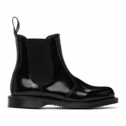 Dr. Martens Black Flora Chelsea Boots R14649001