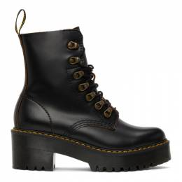 Dr. Martens Black Leona Boots R22601001