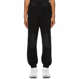 Song For The Mute Black Work Trousers 202_MPT075_PRSMBLK