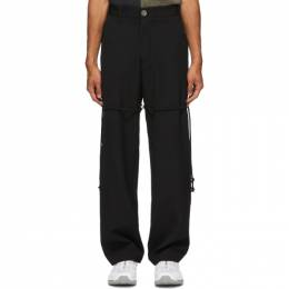 Song For The Mute Black Dress Pant Trousers 202_MPT076_WOGBBLK