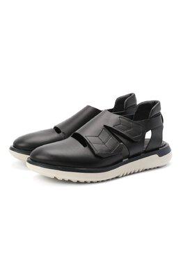 Кожаные сандалии Giorgio Armani X2L116/XM367