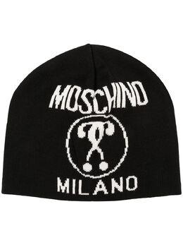 Moschino шапка бини с логотипом M514660016
