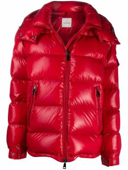 Moncler quilted hooded zipped jacket 1A57600C0064