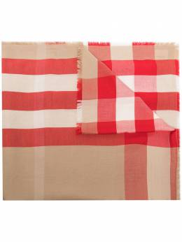 Burberry checked cashmere scarf 8030630