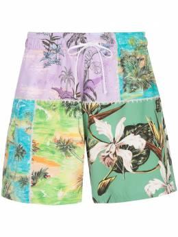 Amiri плавки-шорты с цветочным принтом F0M16230PSPUG