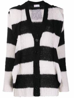 Red Valentino striped knitted cardigan UR3KA00N589