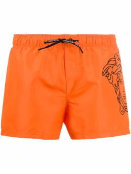 Versace плавки-шорты с принтом Pop Medusa ABU13005A232415