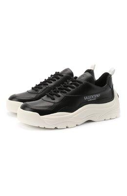 Кожаные кроссовки Valentino Garavani Gumboy Valentino UW2S0K55/AEQ