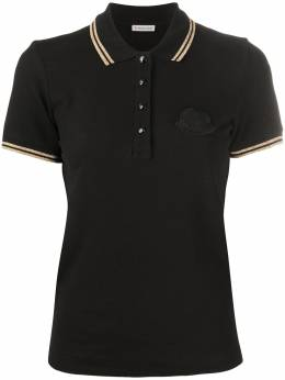 Moncler logo patch polo top 8A70500V8003