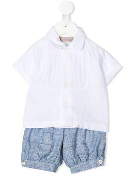 La Stupenderia короткий комбинезон с рубашкой CCCT55Z37