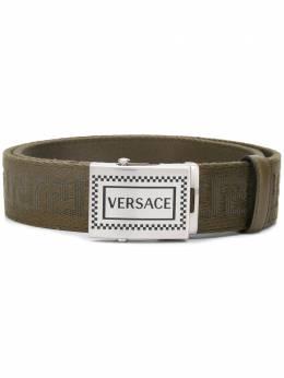 Versace ремень с узором Greca DCU8237DNAS67