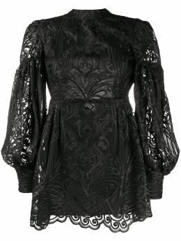 Wandering коктейльное платье с вышивкой WGW19409